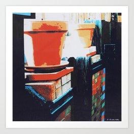 GATERA STUDY 45 Art Print
