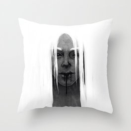 The Witch Hunt Throw Pillow