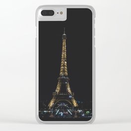 Tour Eiffel Clear iPhone Case