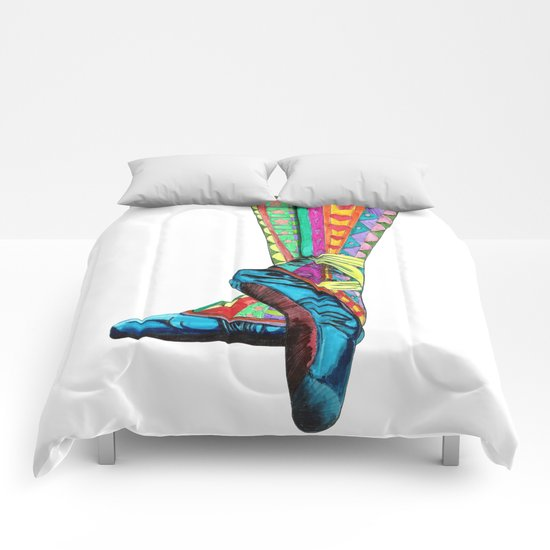 Happy Ballet II Comforters