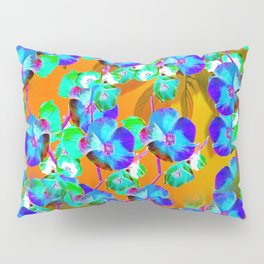 Floral Vine - Gold Pillow Sham