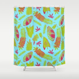 Tropical Plants Shower Curtain