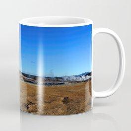 Namafjall geothermal Iceland Panorama Coffee Mug
