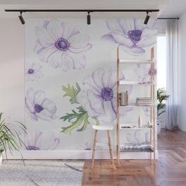 Anemones #society6 #buyart Wall Mural