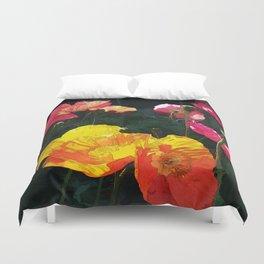 Poppies Four Duvet Cover