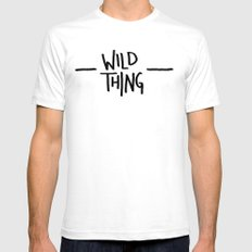 Wild Thing: Skagit Valley, Washington White Mens Fitted Tee SMALL