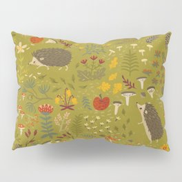 Hedgehog Meadow Pillow Sham