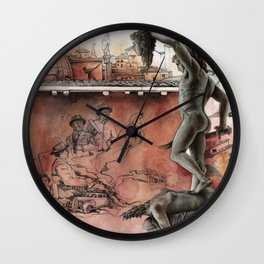 Mafioso Wall Clock