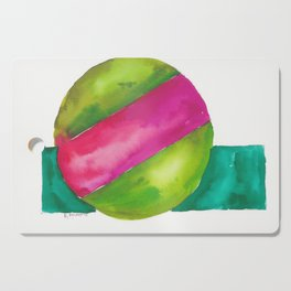 180819 Geometrical Watercolour 2  | Colorful Abstract | Modern Watercolor Art Cutting Board