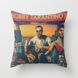BOBBY TARANTINO II - LOGIC Throw Pillow
