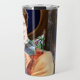 Doctor WHO and Occam's Whiskers Travel Mug