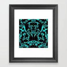 Celtic Loop Green Framed Art Print