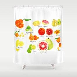Citrus Shower Curtain