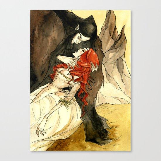 Hades and Persephone III Canvas Print