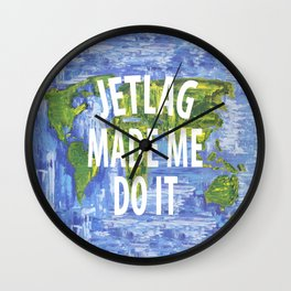 JETLAG Wall Clock