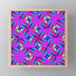 Retro Rosemary Pink Framed Mini Art Print