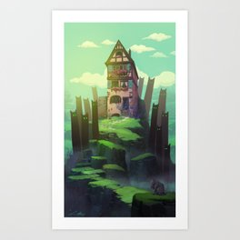 The Spirits of the Valley Art Print