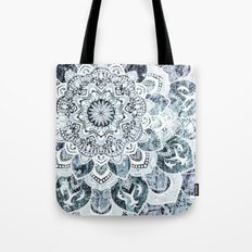 MOON SMILE MANDALA Tote Bag