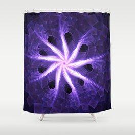 Flower of Nine Shower Curtain