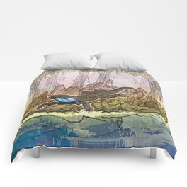 Lizard Island / Blue Beard Comforters
