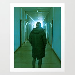 Corridor Art Print