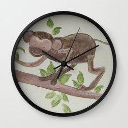 MONKEY & A BANANA Wall Clock