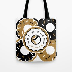 Hot and Fresh Donuts Tote Bag