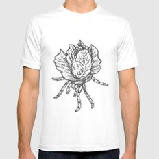 Spider lettuce by Piki Mens Fitted Tee White MEDIUM