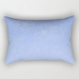 Icy Purple Abstract Rectangular Pillow