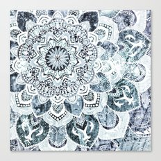 MOON SMILE MANDALA Canvas Print