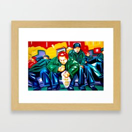 """No land for sweet dreams""  Framed Art Print"
