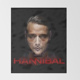 Hannibal Masked Throw Blanket