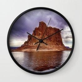 Formation at Lake Powell - Arizona Wall Clock