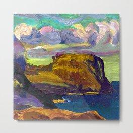 George Bellows Rocks and Coast Metal Print