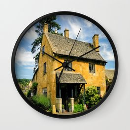 Corner Cottage Wall Clock