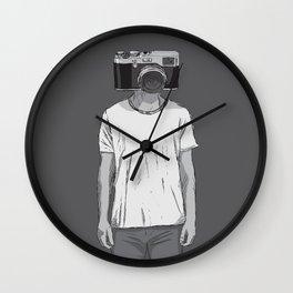 Camera dude Wall Clock