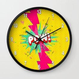 POW! Wall Clock