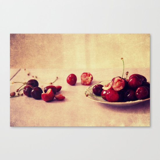 like cherries? Canvas Print