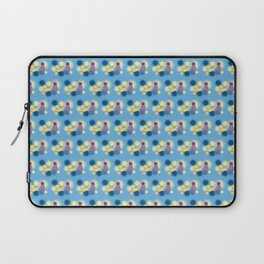 The Sleepy Sheep & Sunbathing Bear Pattern Laptop Sleeve