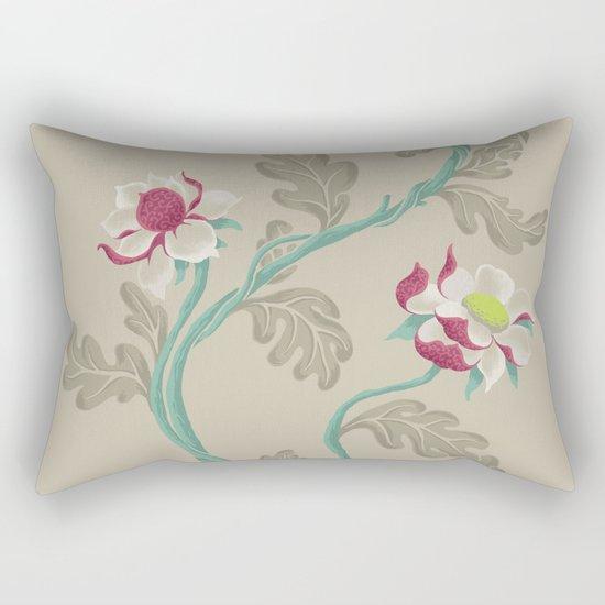 Filigree Floral Rectangular Pillow