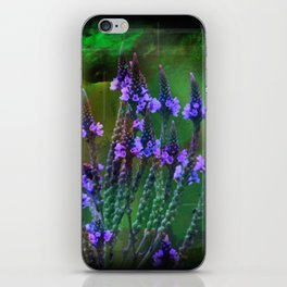 Flowers In A World Of Colors  iPhone Skin