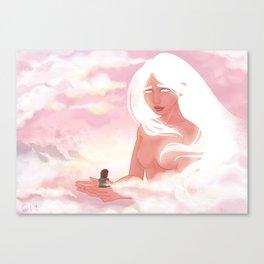Guardian Angel Print Canvas Print