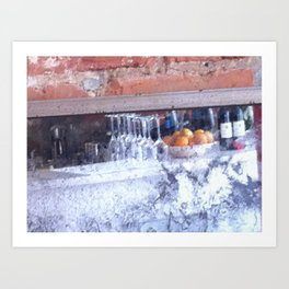 Cezanne's Bar Art Print