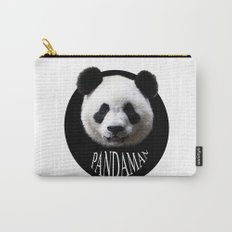Panda cool man colors fashion Jacob's Paris Carry-All Pouch