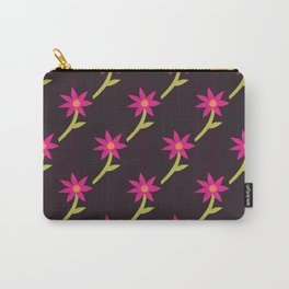 Paper Blooms Carry-All Pouch