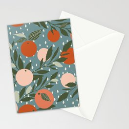 Indy Bloom Tangerine Rain Stationery Cards