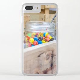 Love is Sweet 2 Clear iPhone Case
