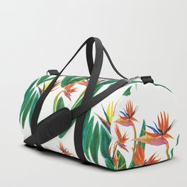 bird of paradise flower Duffle Bag