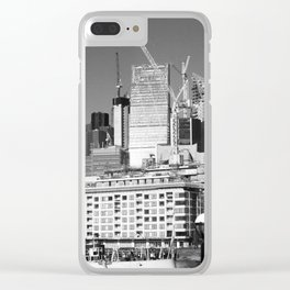 City Of London Skyline Clear iPhone Case