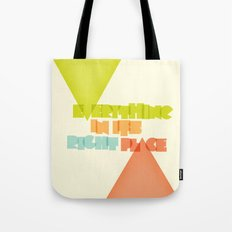 Everything . . Tote Bag